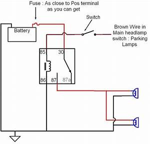 wiring driving lights with high beams f150online forums With wiring diagram for driving lights driving light relay wiring diagram