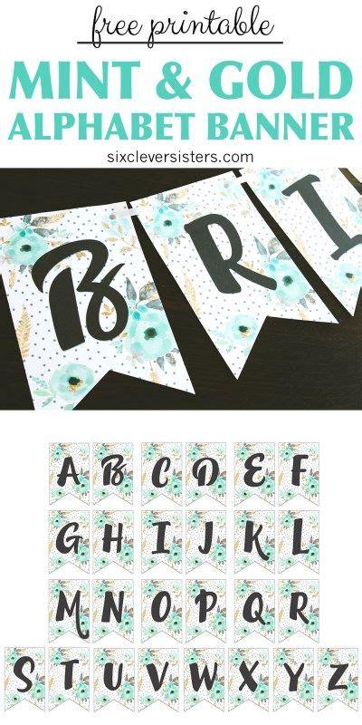 printable happy birthday banner  alphabet naufal