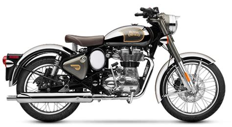 Enfield Image by Classic Black Chrome Graphite Royal Enfield Chrome 500