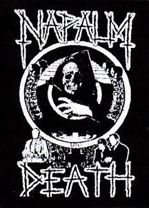 Napalm Death- Life? cloth patch (cp963) | Punk Patchs ...