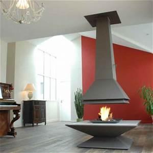 Cheminée Centrale Prix : cheminee poele centrale ~ Premium-room.com Idées de Décoration