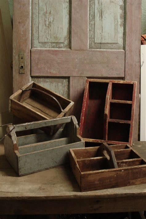 vintage wood tool caddy woodworking projects plans