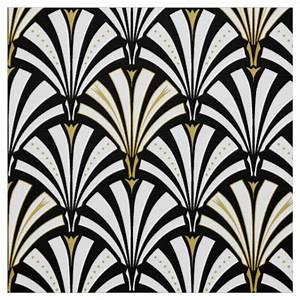 Black And White Art Deco Fabric - newhairstylesformen2014.com