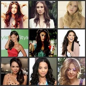 PLL : Aria, Spencer, Hanna, Jenna, Paige, Emily, Mona ...