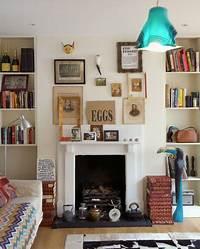 great country fireplace mantel style Chimeneas de la chimenea y Alrededores | Interior House Design