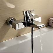 Bathtub Spigot Finish Single Handle Wall Mount Bathtub Faucet