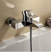 Bathtub Spigot Finish Single Handle Wall Mount Bathtub Faucet