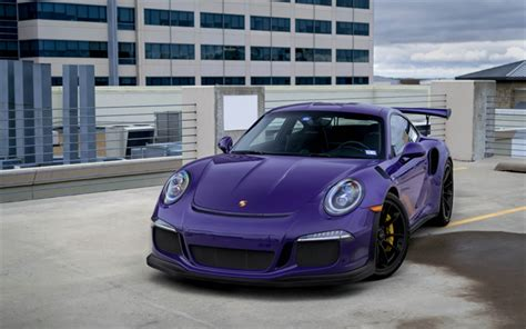 porsche sports car black download wallpapers porsche 911 gt3rs 2018 purple sports