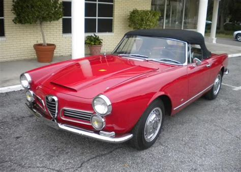 Quattro Fino  Cars  1962 Alfa Romeo 2600 Spyder