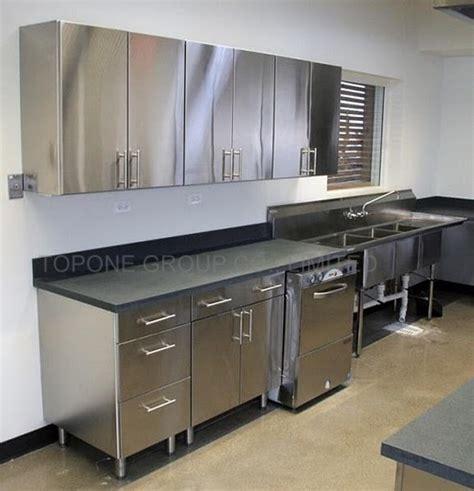 metal kitchen cabinet stainless steel kitchens steelkitchen 4089