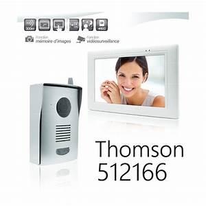 Visiophone Sans Fil Castorama : thomson visiophone couleur sans fil 512166 ~ Dailycaller-alerts.com Idées de Décoration