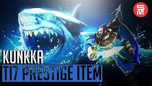 Kunkka Immortal Prestige Item Shark Boat Ultimate Dota 2