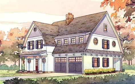 gambrel house plans 2 passive solar gambrel house plan 16503ar 2nd
