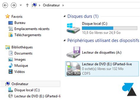 monter un fichier iso avec windows 8 windowsfacile fr