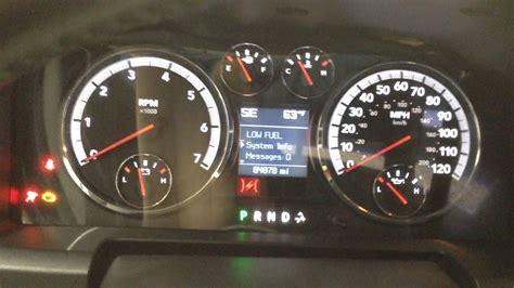 Reset Check Engine Light Dodge Ram 2500 by Reset Check Engine Light 2017 Dodge Ram 2500