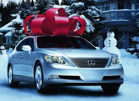 lexus bow where do you buy that giant ribbon they use in commercials