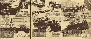 1978 Jeep Shop Manual Cj Cherokee Wagoneer J10 J20 Truck