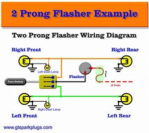 Two Prong Flasher Wire Diagram