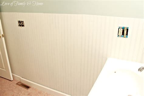 Beadboard Wallpaper Tutorial-love Of Family & Home