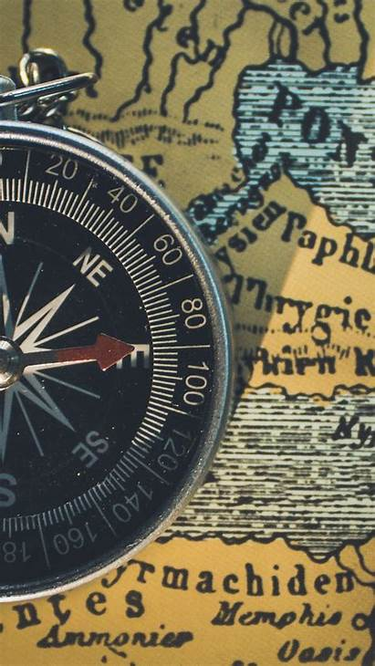 Travel Compass Map Background Iphone Coaching Parallax