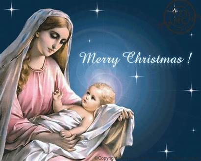 Christmas Religious Blessings Cards Merry Card Ecards