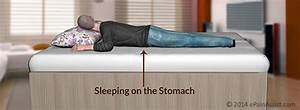 sleeping postures to prevent back pain neck pain With back pain when lying on stomach