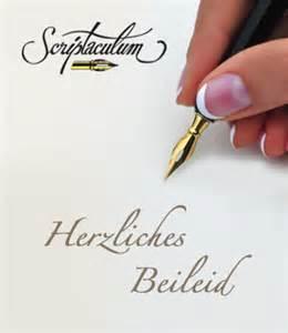 sprüche beileid scriptaculum