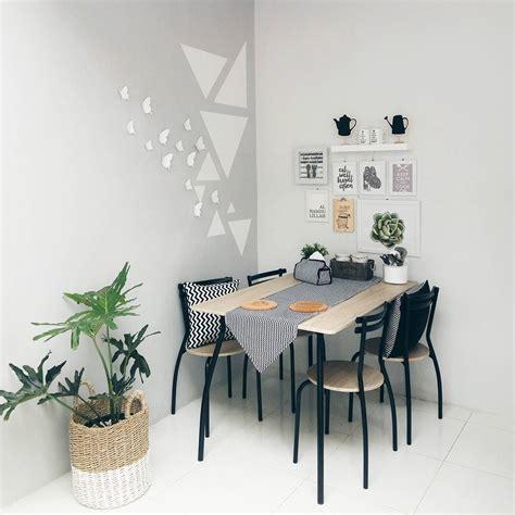 desain ruang makan minimalis sederhana terbaru  dekor rumah