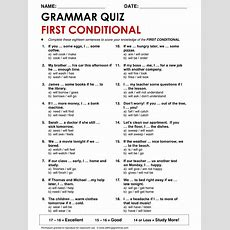 English Grammar First Conditional Wwwallthingsgrammarcomfirstconditionalhtml English