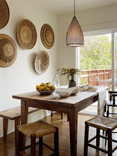 d馗oration murale cuisine davaus chaise de cuisine en osier avec des idées intéressantes pour la conception de la chambre