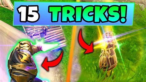 fortnite thanos gameplay  tips  tricks  winning
