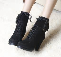Black Gothic High Heel Boots