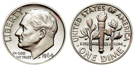 1964 dime value 1964 roosevelt dimes silver composition value and prices