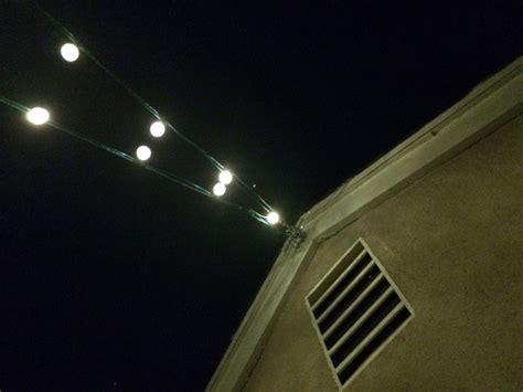 philips globe string lights amazon com philips clear globe led string lights set of