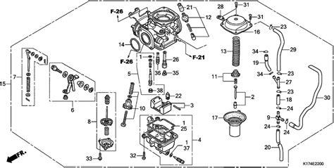 Honda Rebel Schematic by Honda Rebel 250 Carburetor Diagram Honda Wiring Diagram