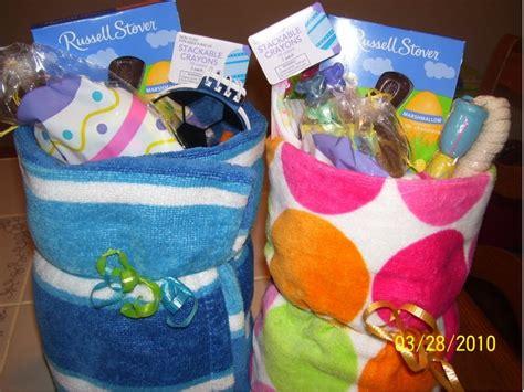 wedding bathroom basket ideas frugal easter idea towel baskets