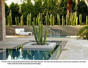 Mid Century Modern Landscape Design With Glamorous Style