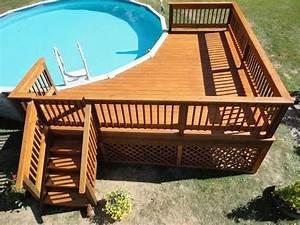 Pool Dach Rund : how to build a deck around a pool youtube ~ Watch28wear.com Haus und Dekorationen