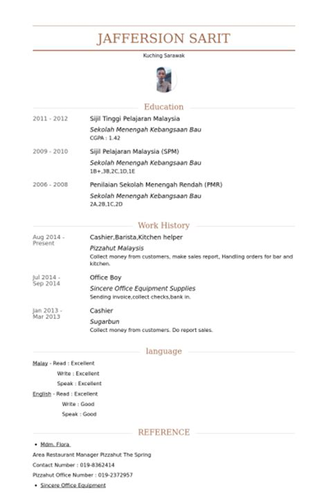 general helper resume