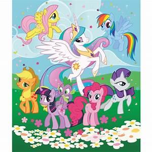 My Little Pony Friendship Wallpaper by Walltastic Great Kidsbedrooms, the children bedroom