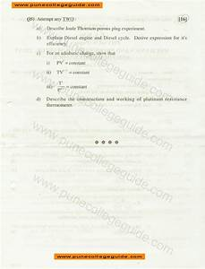 Pune University Question Papers  Physics I Machines And