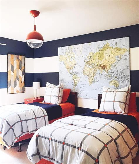I've been thinking about moving the boys into a shared bedroom for quite sometime now. 29 Delightful Inspirations For #boysbedroomlayout | Boy ...