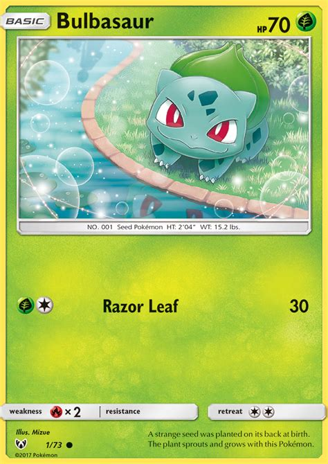 Jul 14, 2021 · after the quartet started arguing with bulbasaur and squirtle, pikachu tries to make peace stating that since they're older, they should set a better example for the baby. Bulbasaur 1/73 SM Shining Legends Common Pokemon Card NEAR MINT TCG