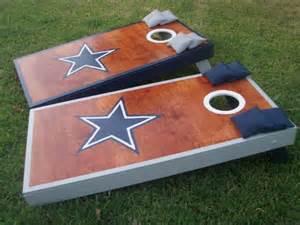 Dallas Cowboys Cornhole Board