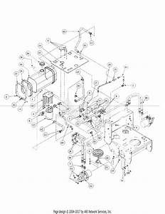 Mtd 1748f  55af3dam195 Parts Diagram For Hydro Pump Assembly