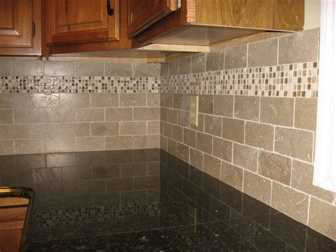Limestone Backsplash Kitchen by New Kitchen Backsplash With Tumbled Limestone Subway Tile