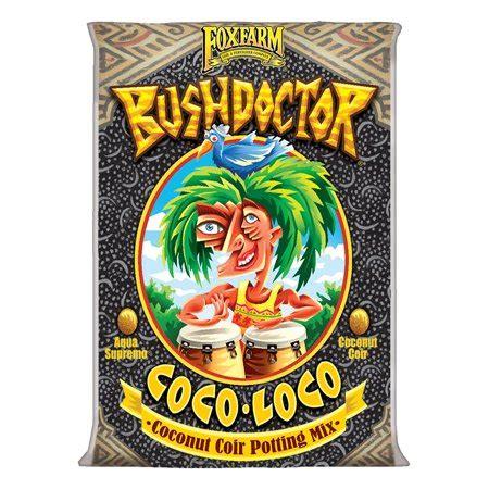 foxfarm fx bush doctor coco loco plant garden potting