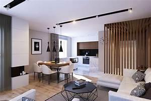 Décoration Appartement Moderne : decoration interieur appartement moderne die neueste ~ Nature-et-papiers.com Idées de Décoration