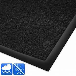 tapis entree lavable et absorbant 9 tailles tapistarfr With tapis d entrée noir