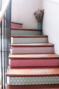 25 best ideas about stickers carrelage sur pinterest With carrelage adhesif salle de bain avec spot led escalier